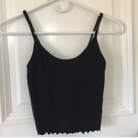 a0280e6762aaae PACSUN BLACK CROP TANK. M 5b1614f645c8b3bc31dfdb6b. Other Tops ...